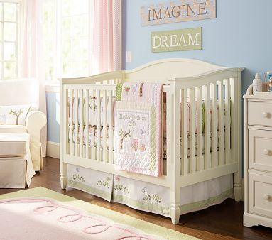 tree owl bird butterfly nature baby bedding from pottery barn kids for a - Pottery Barn Babies Room