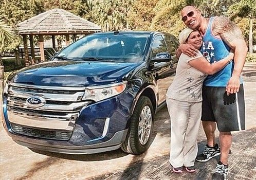 Dwayne Johnson: The Rock presents his housekeeper with a new car