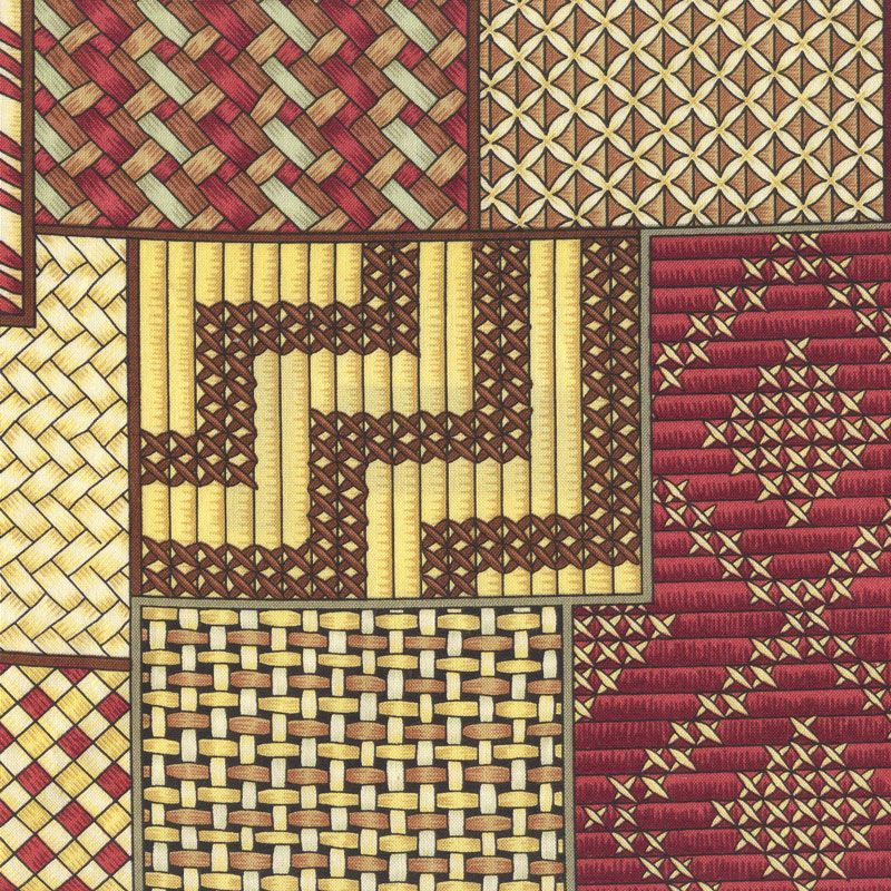 Maori Kete NZ New Zealand Quilting Fabric - Find a Fabric ... : quilting fabric nz - Adamdwight.com