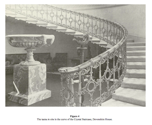 Crystal Staircase Devonshire House Chatsworth House London History Historic Homes