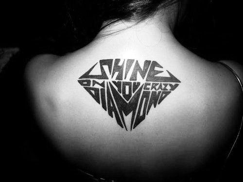 """shine on you crazy diamond"" - Pink Floyd"