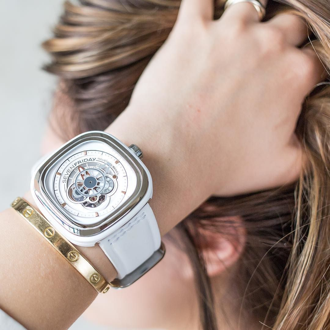 Summer And The Newly Released Sevenfriday P1b 02 Are Just Around Silver Corner May Release By