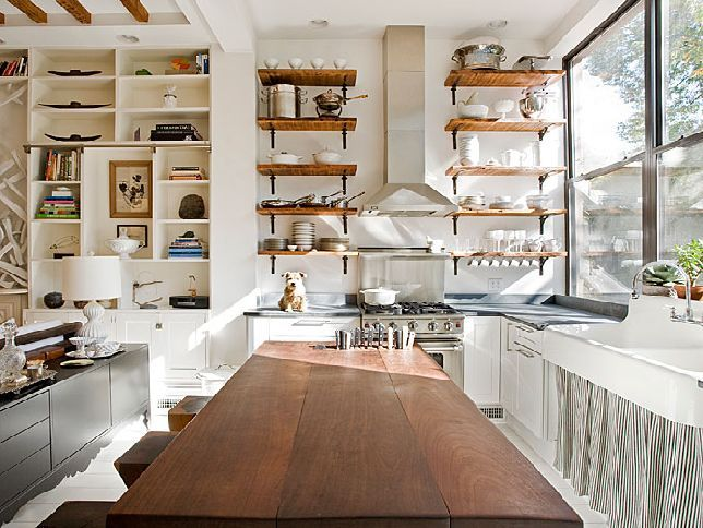 Lovely Open Shelving In Kitchen Ideas 4 Open Shelving Kitchen