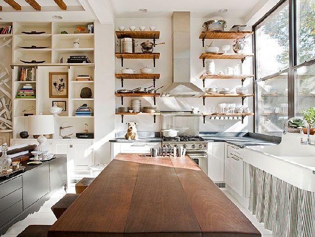 Lovely Open Shelving In Kitchen Ideas #4 - Open Shelving Kitchen ...