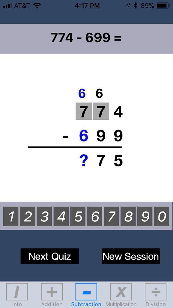 iPhone application Math BK5 provides a spectrum of mathematical ...