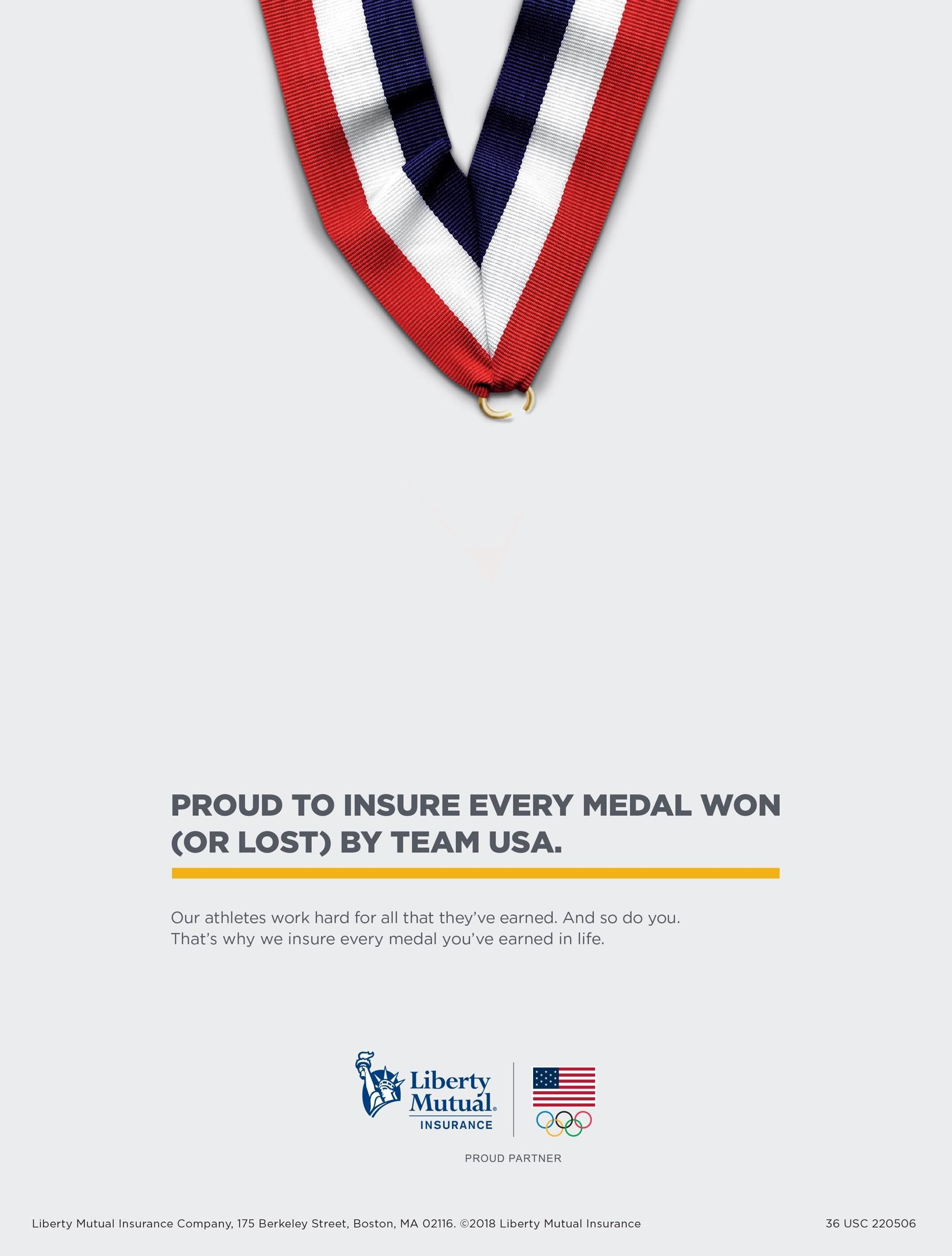 Liberty Mutual Lost Medal Liberty Mutual Mutual Liberty