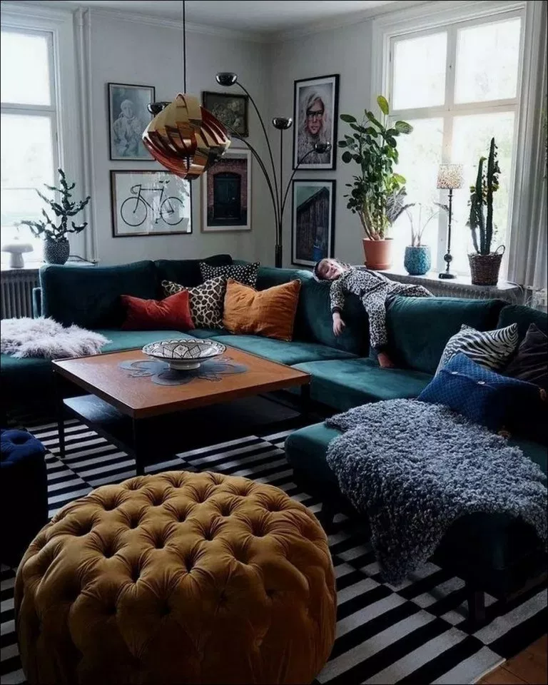 53 Colorful Eclectic Living Room 41 Living Room Decor Apartment