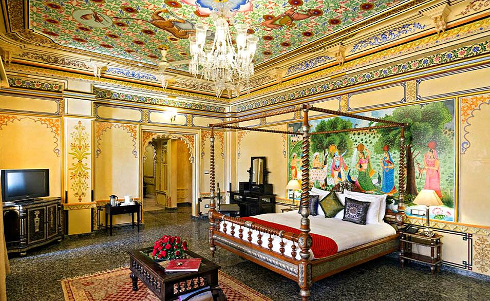 Historic Suite At Chunda Palace Luxury hotel room