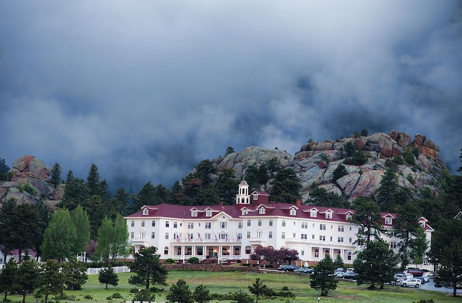 Stanley Hotel At Estes Park By Gregory Scott Stanley Hotel