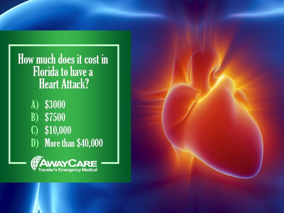 How much does it cost to have a Heart Attack in Florida ...