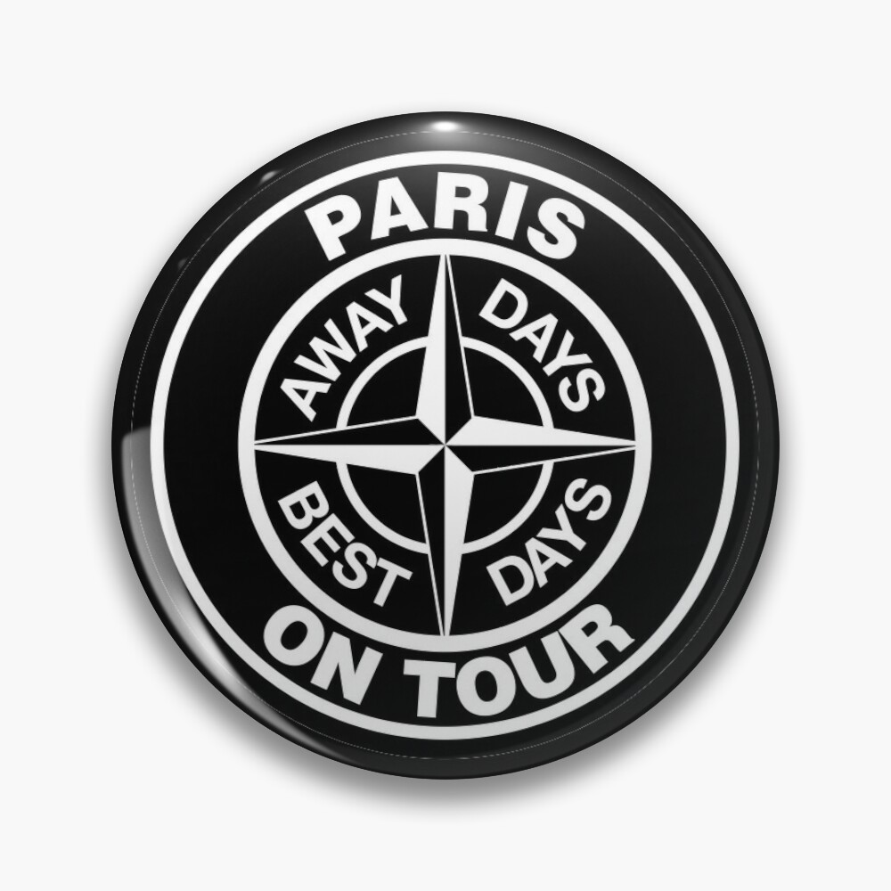 Paris On Tour Away Days Best Days Pin Button By Infrontofyou Tours Good Day Buttons Pinback