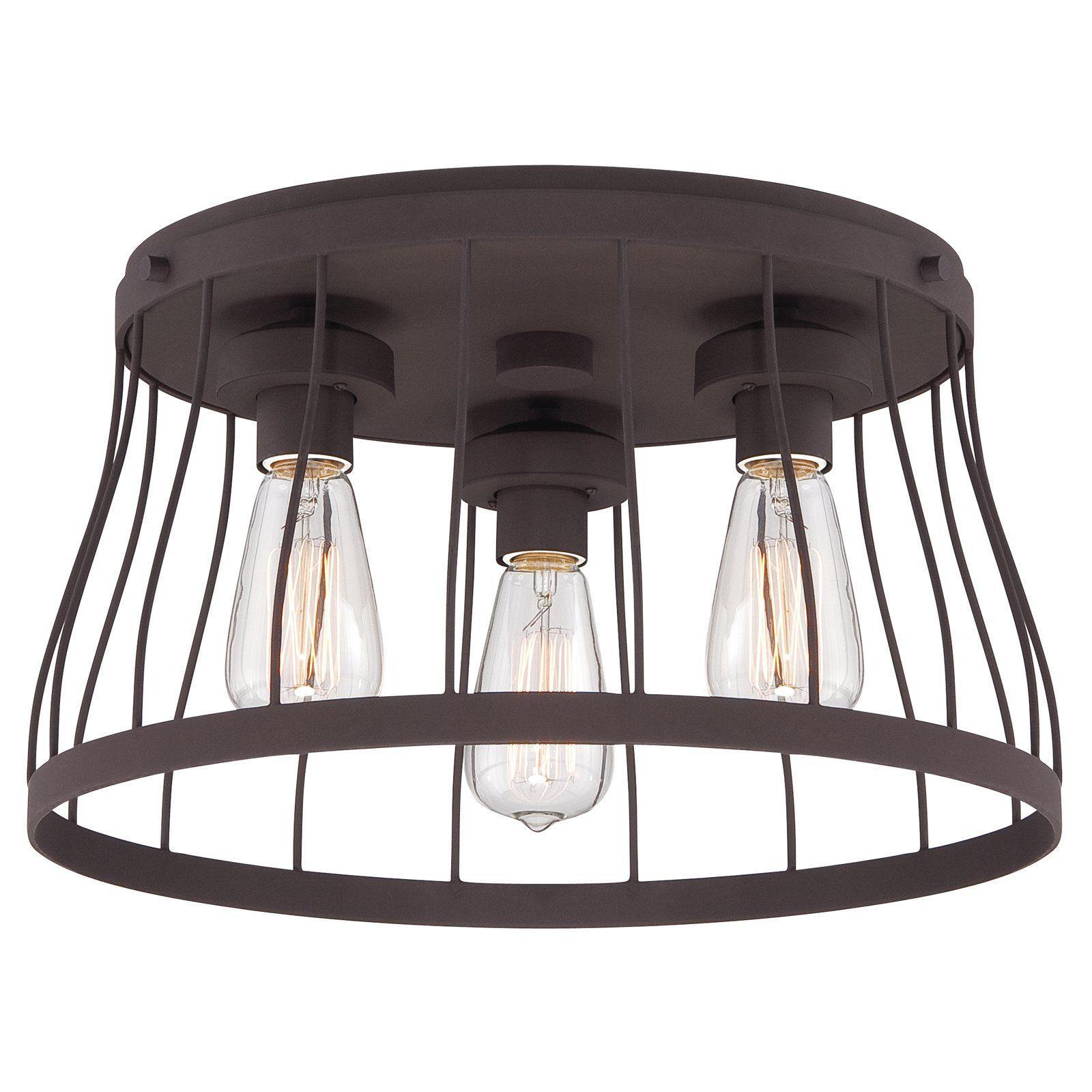 Designers fountain brooklyn 86821 flush mount light from