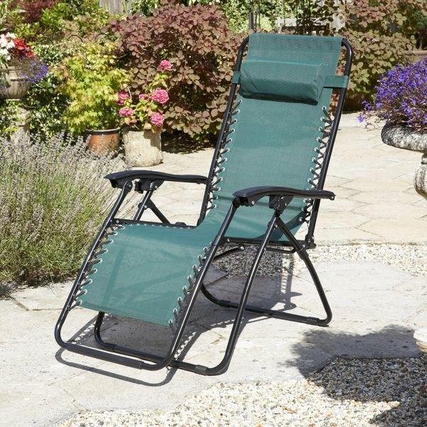 Brundle Gardener Anti Gravity Reclining Chairs (Set of 2
