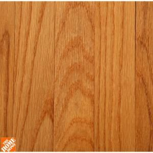 Bruce Laurel Butterscotch Oak 3 4 In Thick X 2 1 4 In Wide X Varying Length Solid Hardwood Flooring 20 Sq Ft Case Ahs626 The Home Depot Solid Hardwood Floors Hardwood Floors Oak Hardwood