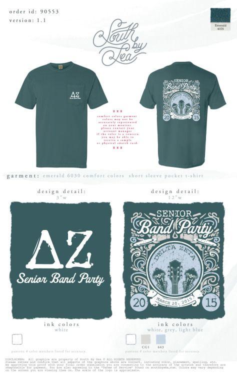 DZ Senior Band Shirt