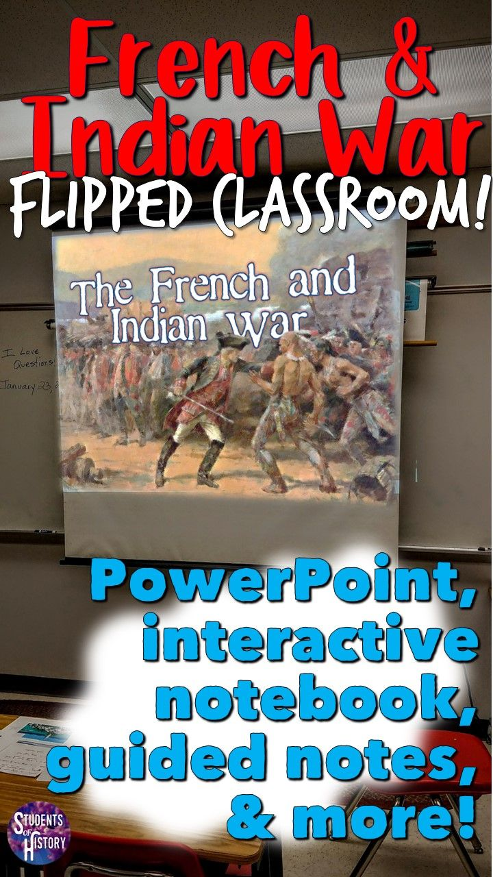 French and Indian War PowerPoint Presentation Teaching