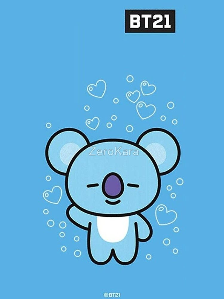 Bt21 Phone Case Koya Iphone Case Bts Drawings Cute Wallpapers Cartoon Wallpaper