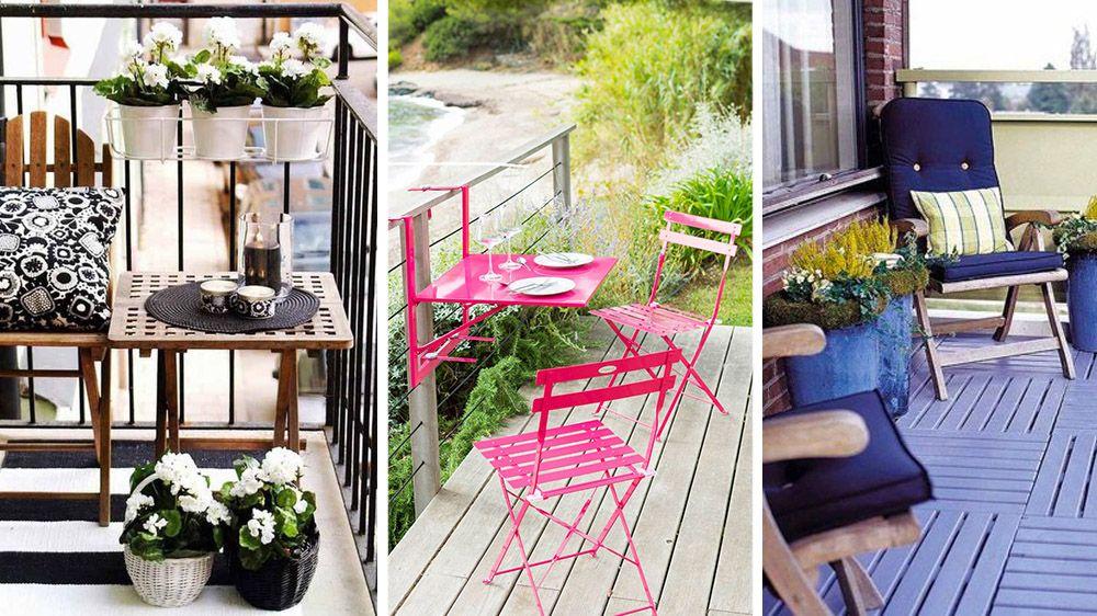 Comment aménager un balcon étroit ?   Salons