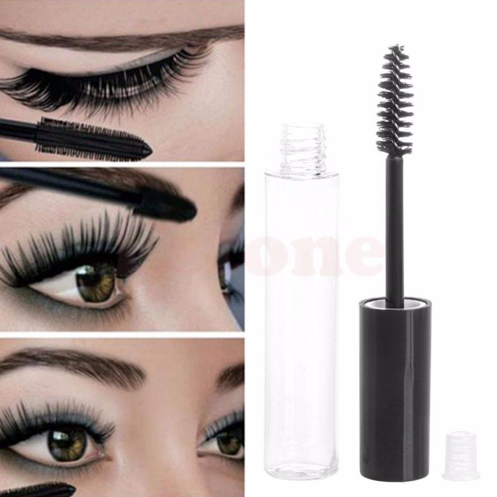 76a47cd4d4e 10ML Empty Mascara Tube Eyelash Cream Vial/Liquid Bottle/Container Black  Cap HTY07