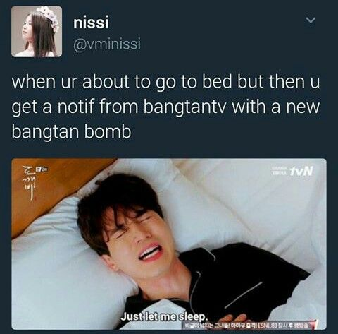 Aww Who Cares About Sleep Turns Out I Have To Care About Sleep Because I Am This Thing Called School I Need To Attend Bts Boys Bts Bangtan Boy Bts Memes