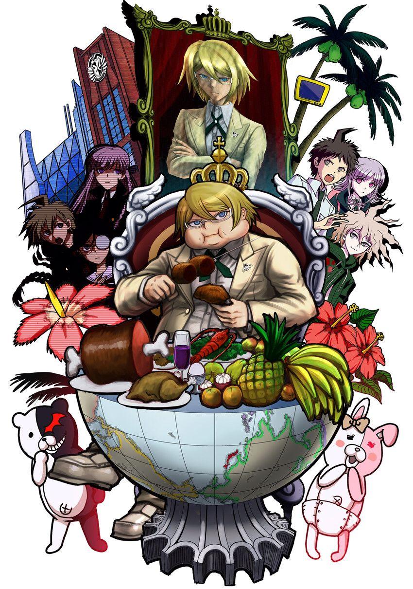 Twogami Danganronpa, Anime, Danganronpa game