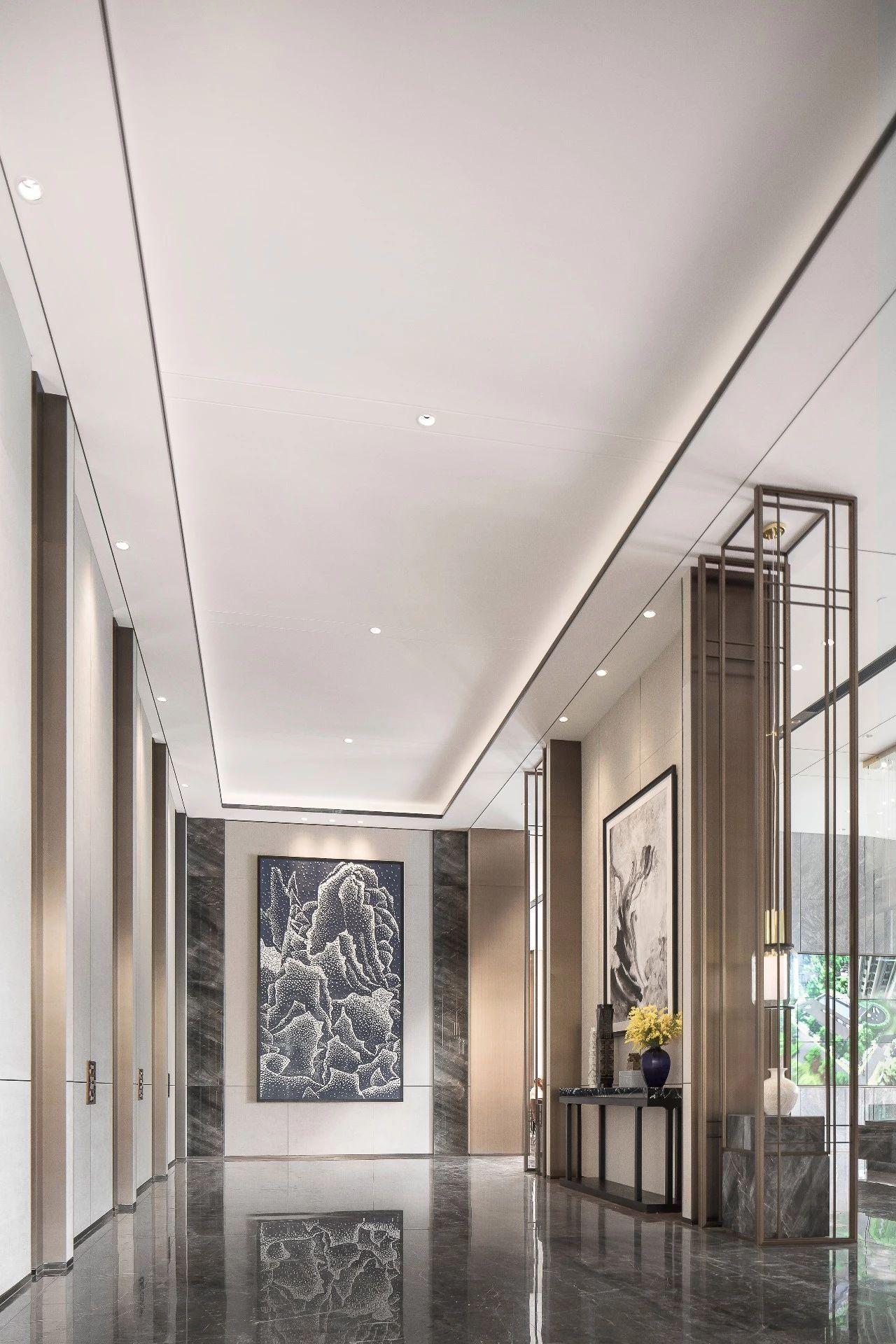 Zhong Hai Sales Gallery In China Hotel Interior Lobby Lobby