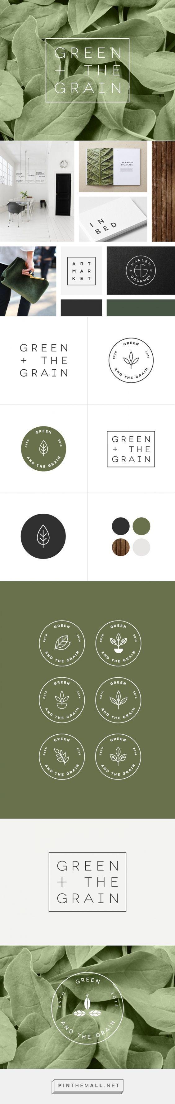 Green & The Grain Branding Fivestar Branding Design
