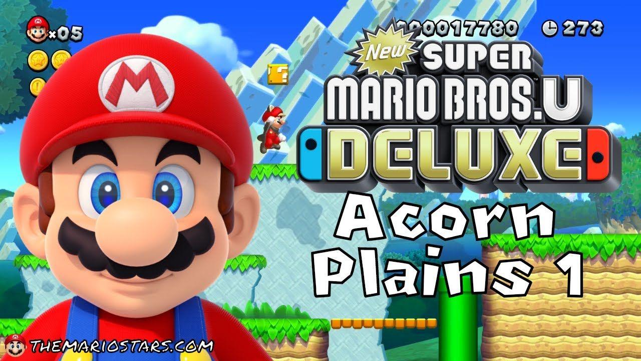New Super Mario Bros U Deluxe Part 1 Gameplay Walkthrough