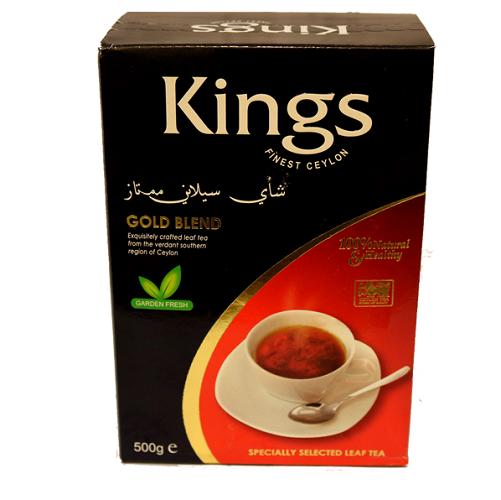 چای کینگس Kings مدل GOLD BLEND فروشگاه اینترنتی اروندکنز
