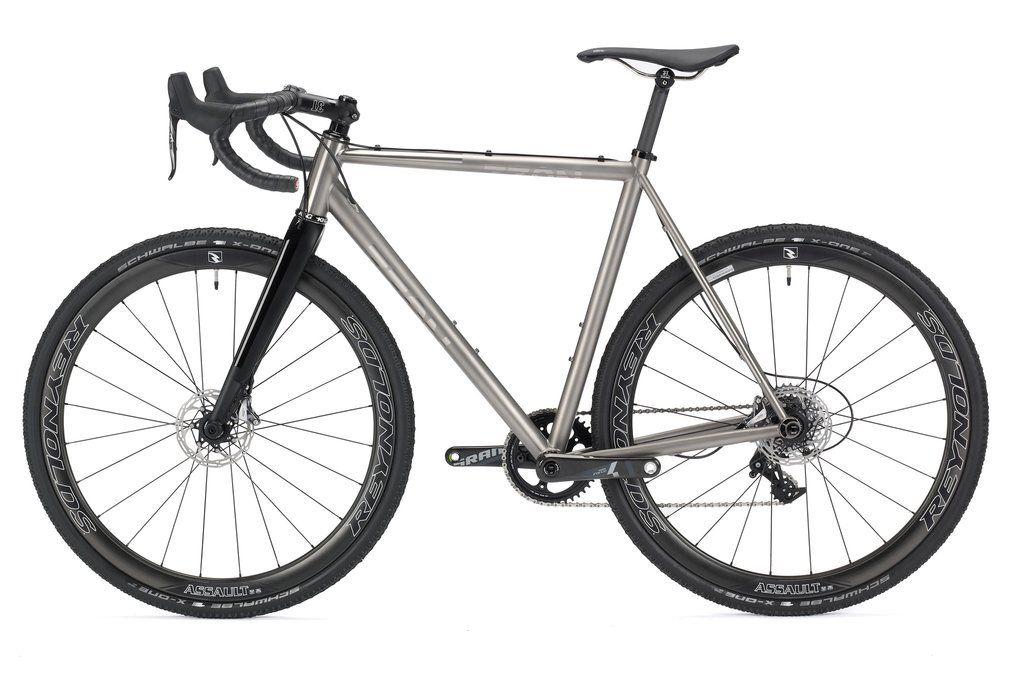 No. 22 Bicycle Company Broken Arrow titanium cyclocross bike ...