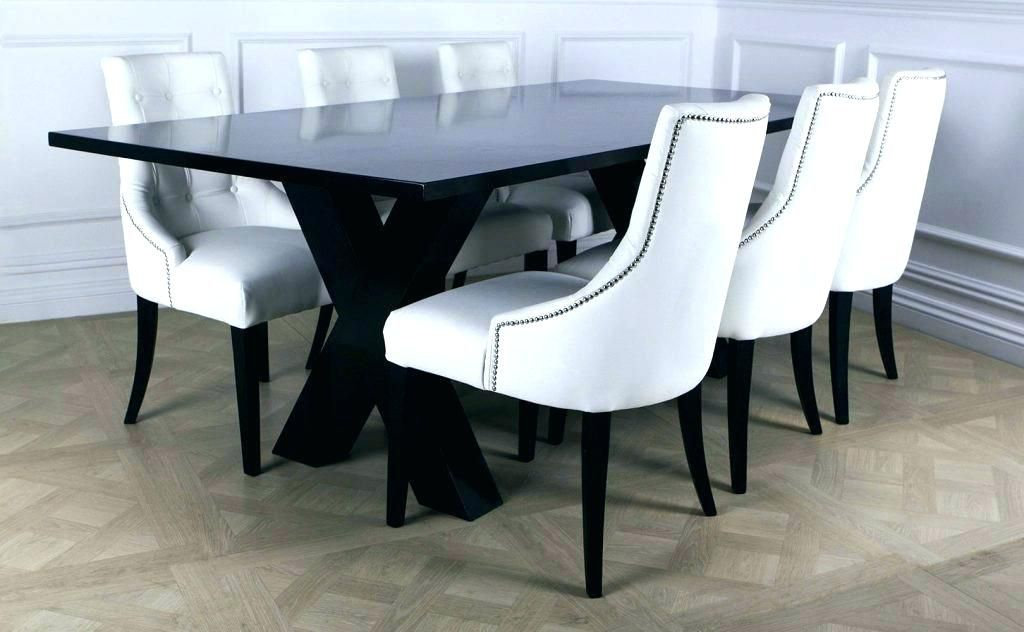 White Leather Dining Room Chairs White Leather Dining Room Chair