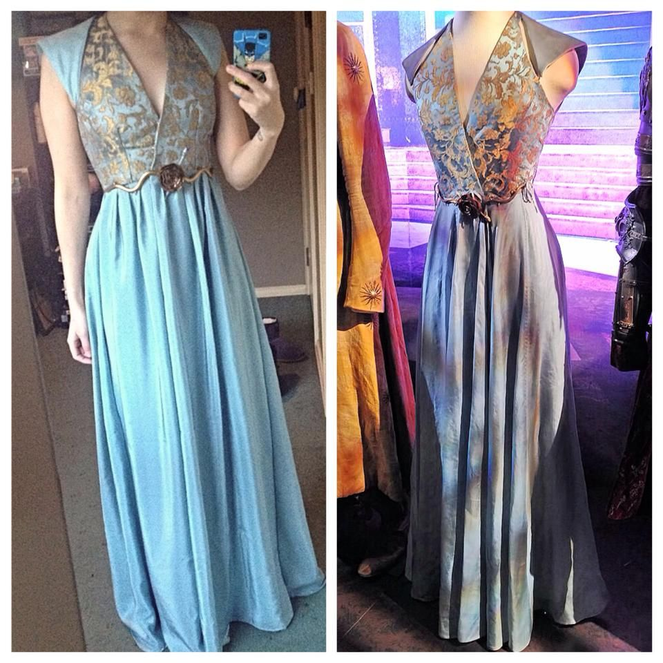 My finished Margaery Tyrell dress | Disfraces medievales, Juego de ...