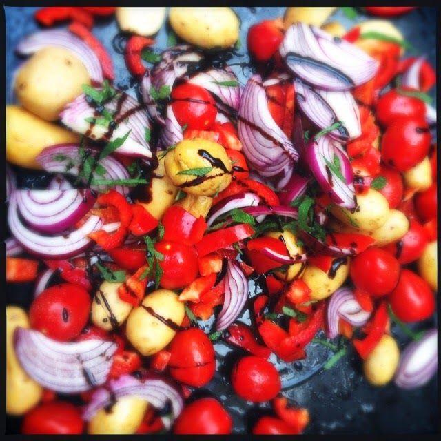 Légumes rôtis 2ème version