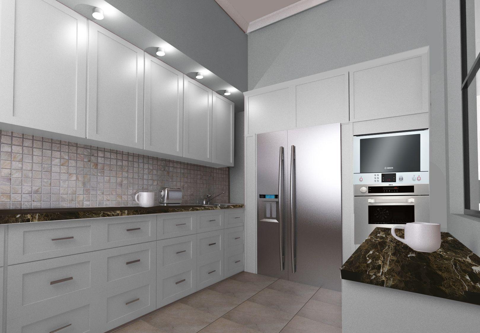 Otwarta kuchnia w bieli hola design homesquare - Kuchnia W Stylu Nowojorskim Szukaj W Google