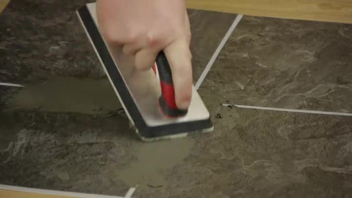 Using Groutable Peel And Stick Floor Tile Requires A