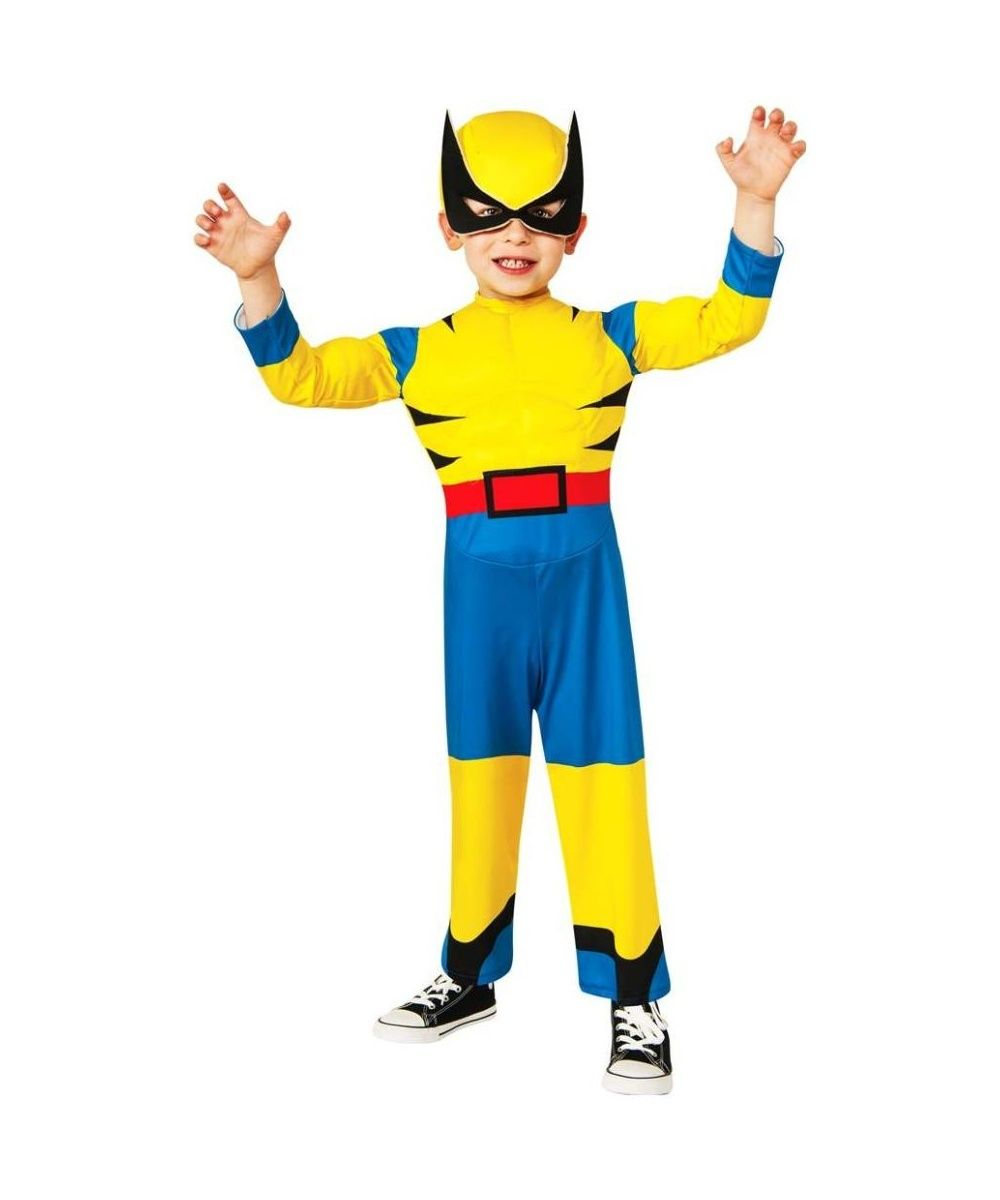 Little Wolverine Toddler Muscle Costume | Superhero Costumes ...