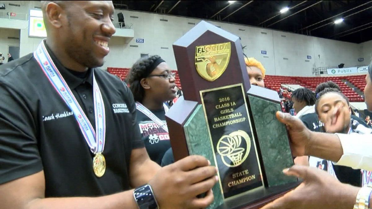 Madison County Girls Basketball Drops By Wtxl To Talk State Championship Basketball Girls Cheerleading Competition Madison