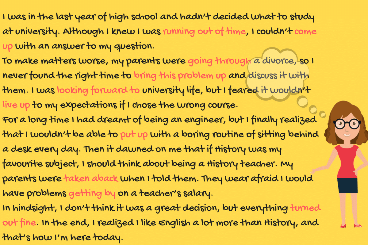 Learn English Phrasal Verbs Through Stories Eslbuzz Learning English Learn English Learn English Vocabulary Helping Verbs [ 799 x 1200 Pixel ]