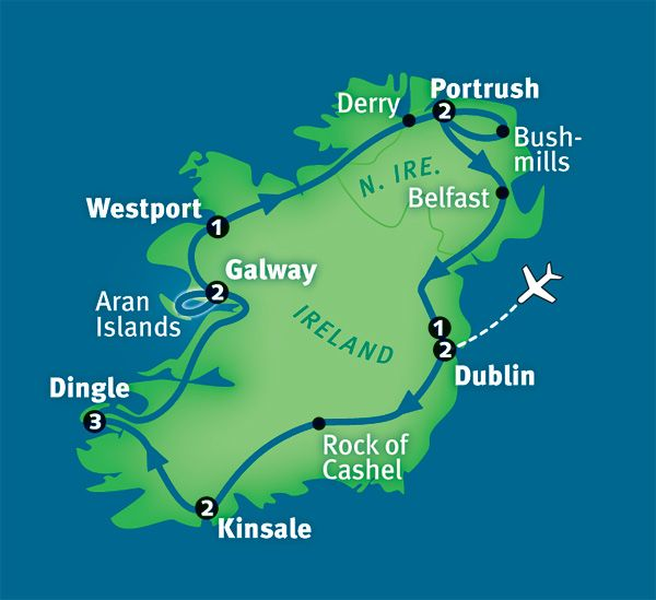 Best of Ireland Tour: Dublin, Galway & Much More in 14 ...