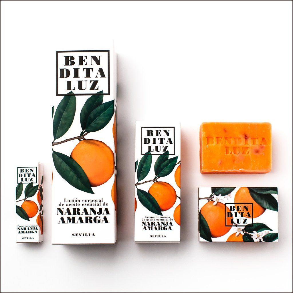 Kit De Productos De Naranja Packaging Design Brand Packaging
