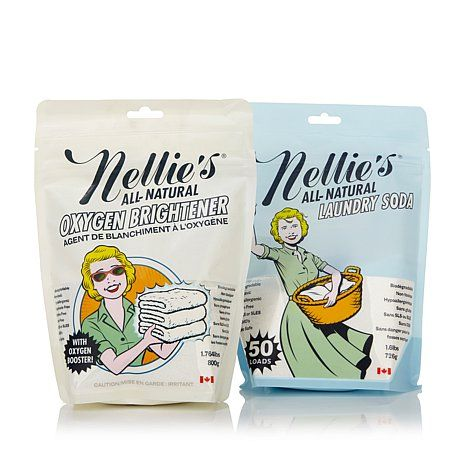 Nellie S All Natural Laundry Soda And Oxygen Brightener Best