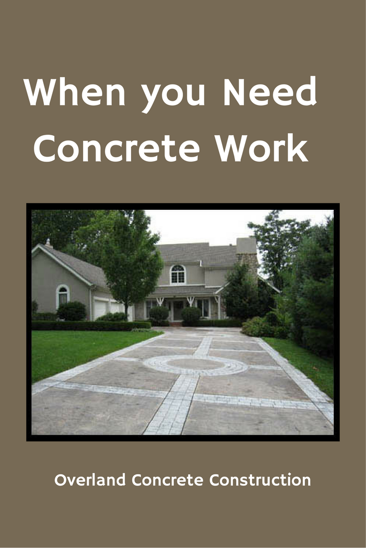 Whether creating a Quality Lasting Driveway, constructing Commercial Flatscapes, or transforming a regular patio into a beautiful simulated stone patio with Stamped and Colored concrete, Overland Concrete continues to grow through word of mouth from our Satisfied Customers. If you need real estate services, contact Tom McChesney with Keller Williams Realty Key Partners LLC. Tom@TomSellsKC.com or 913-908-2453.