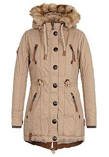 neueste trends von 2019 weltweit verkauft langlebig im einsatz NAKETANO Procrastinator - Jacket for Women - Khaki/Beige ...