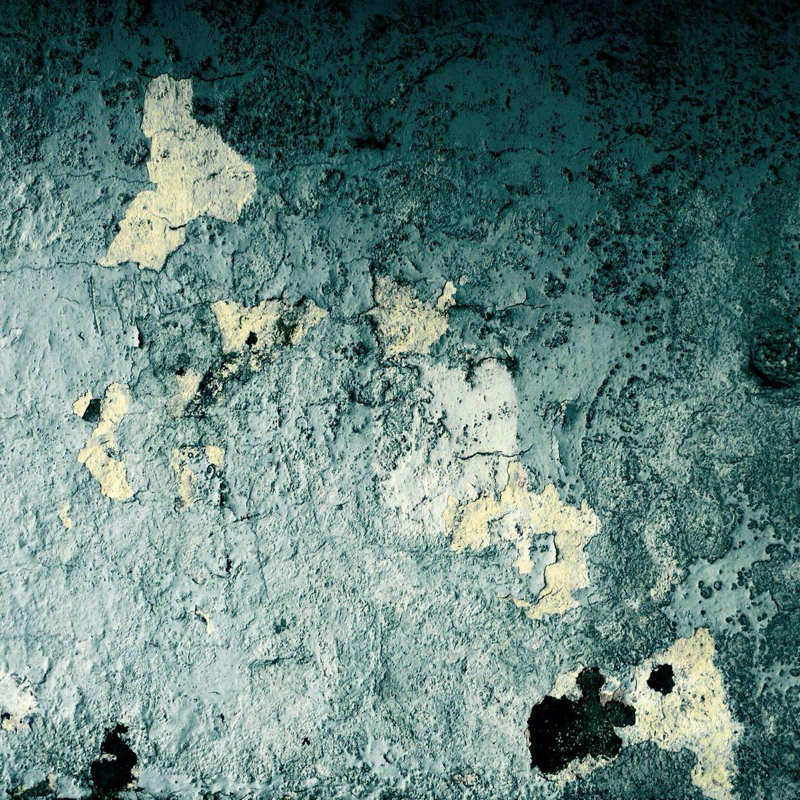 Peeling paint, shelter Whitley Bay