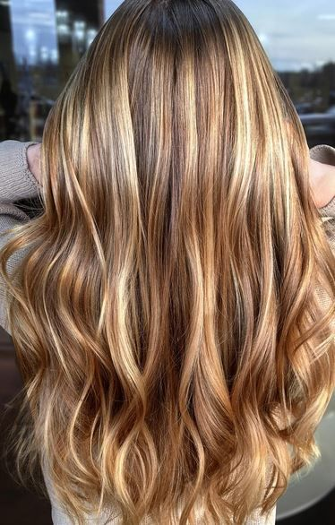 haircut and highlights, natural hair colors
