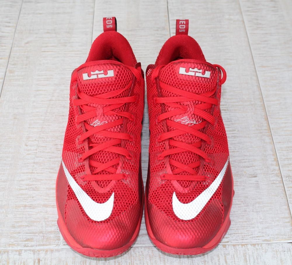 0f6cb6abac7c6 Nike LeBron Earned 23 Red Zoom Sneakers Size 13 #fashion #clothing ...