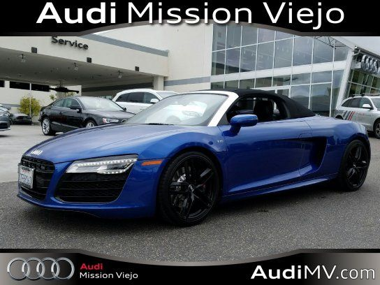 Convertible Audi R V Spyder With Door In Mission Viejo - Audi mission viejo service