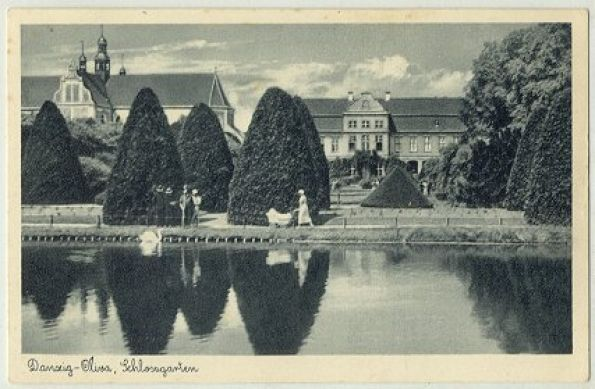 Palac Opatow W Parku Oliwskim Abbot S Palace In Oliwa Park Gdansk History Gdansk Landmarks Historia