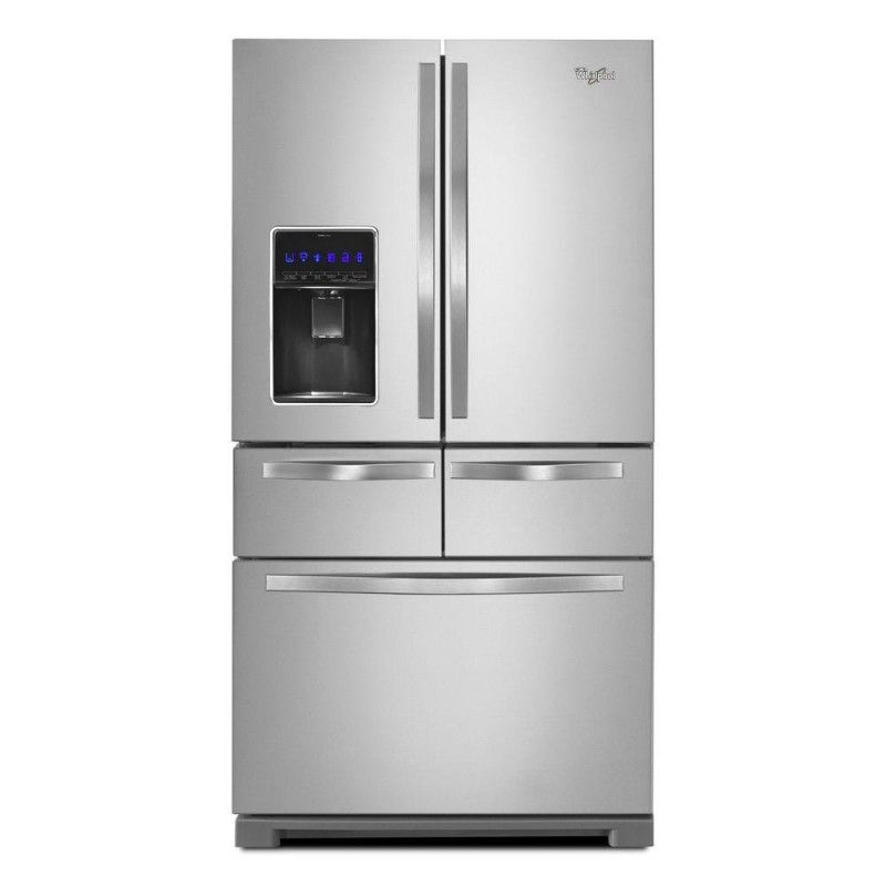 Whirlpool Wrv986fdem01 25 8 Cu Ft Double Drawer French Door