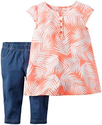 Carters 2 Piece Playwear Sets Print 2T >>> Read more  at the image link.